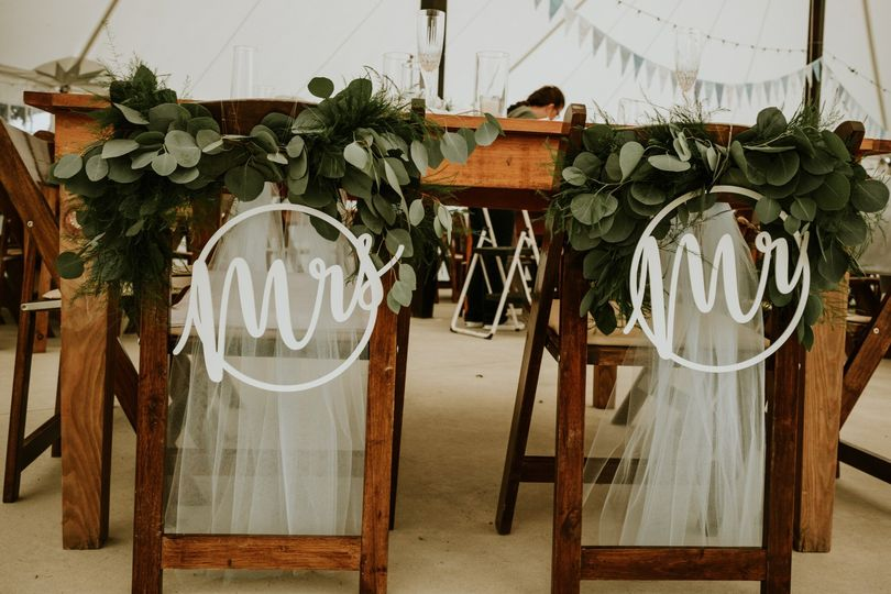 The sweetheart table - Little redd photography