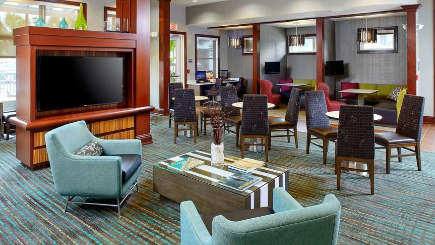 Cozy and tasteful lobby