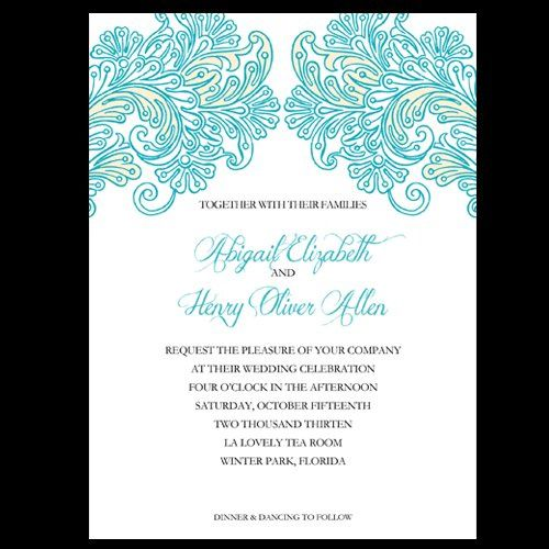 Tmx 1357576756352 Clubchic Orlando wedding invitation