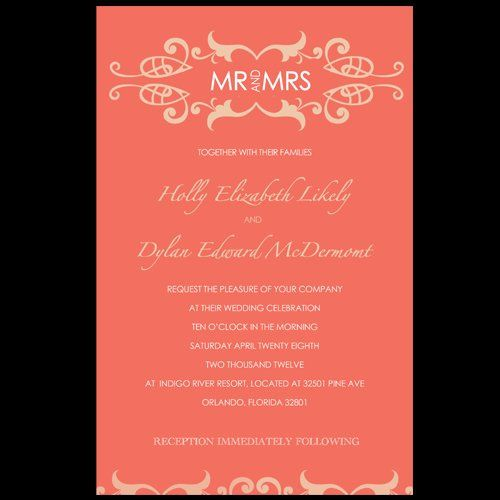 Tmx 1357576767586 MrandMrs Orlando wedding invitation