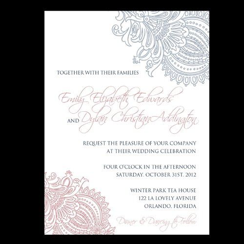 Tmx 1357576769717 PrettyinPaisley Orlando wedding invitation