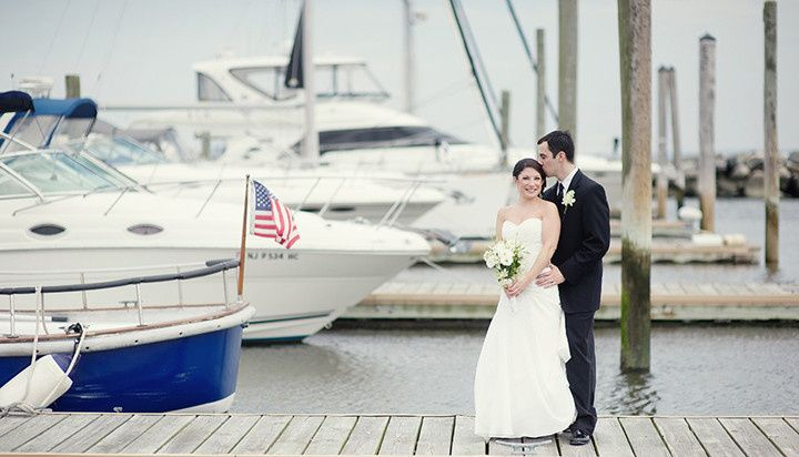 By the boats