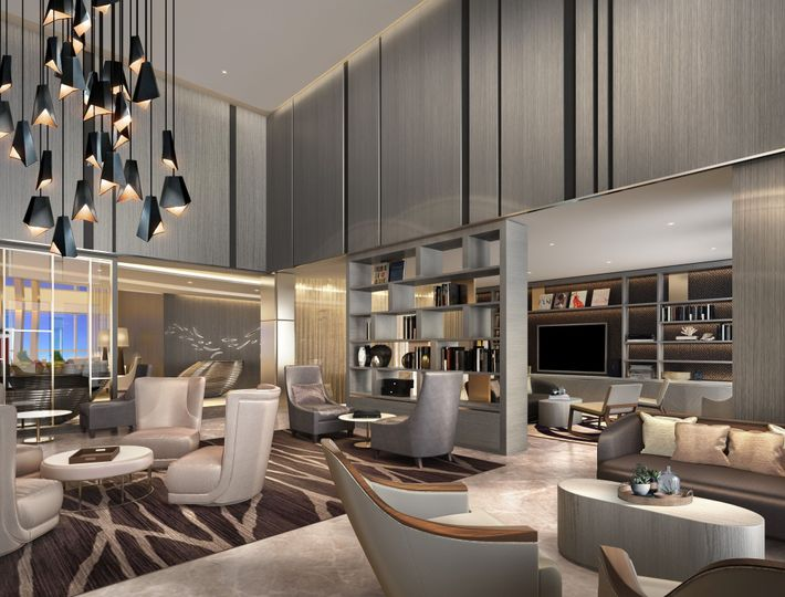 Executive Lounge for meetings
