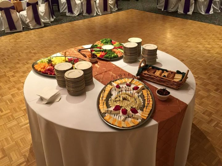 Tmx Appetizer Table 51 153539 Boston, MA wedding catering