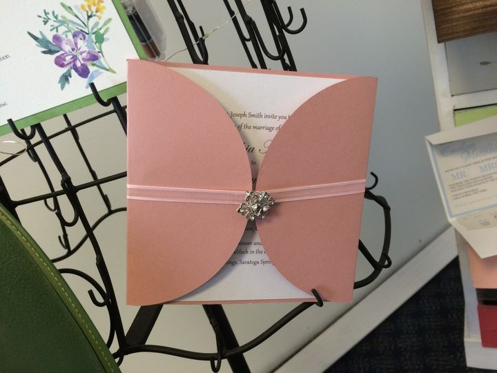 Panel Folder with Ribbon Band and Buckle.
