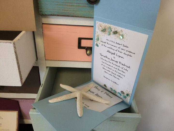 Tmx 1420212383141 Img1084 Queensbury wedding invitation