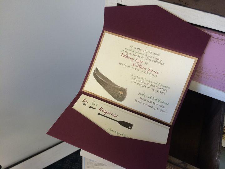 Tmx 1420212403292 Img1085 Queensbury wedding invitation
