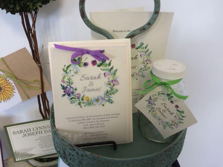 Tmx 1420212513484 Img1090 Queensbury wedding invitation