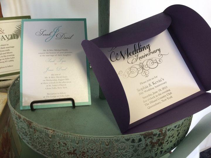 Tmx 1420212542450 Img1091 Queensbury wedding invitation