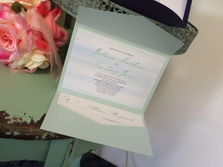 Tmx 1420212600976 Img1093 Queensbury wedding invitation