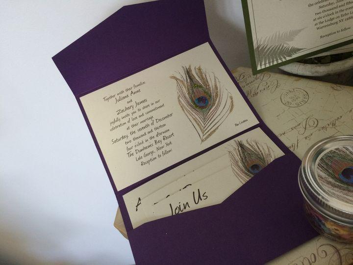 Tmx 1420212631821 Img1094 Queensbury wedding invitation