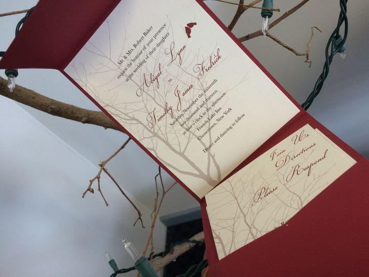 Tmx 1420212759751 Img1099 Queensbury wedding invitation