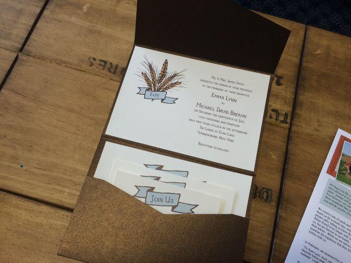 Tmx 1420212794467 Img1100 Queensbury wedding invitation