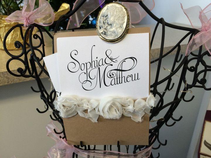 Tmx 1420214033416 Img1105 Queensbury wedding invitation