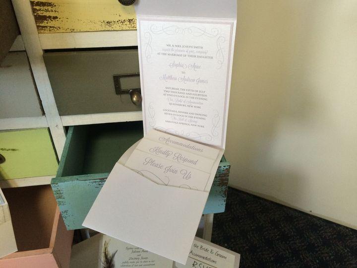 Tmx 1420214056875 Img1106 Queensbury wedding invitation