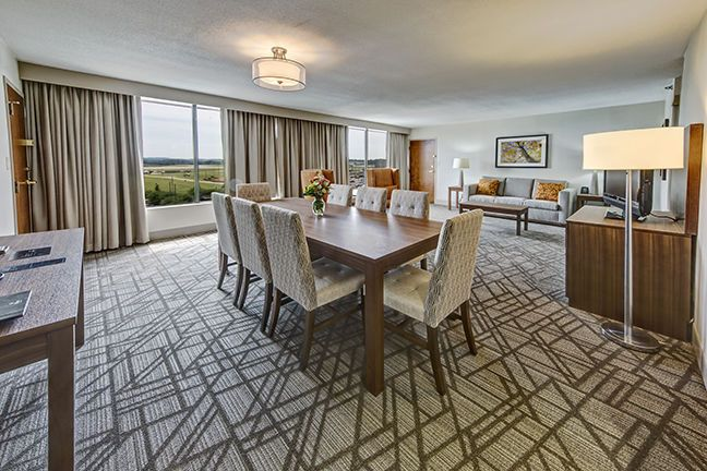 Executive Floor Suite (1 or two bedrooms)