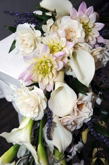 White Bouquet Closeup