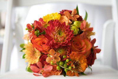 Fall Bridal Bouquet