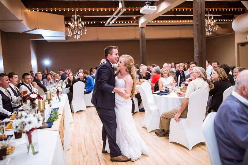 Ballroom first dance