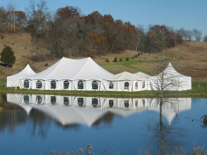 Tmx 1453434515144 30 X 60 Staked Tent In Elizabeth Il By Inside Deco Dubuque, IA wedding rental