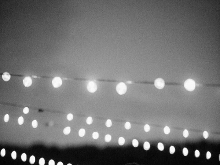 Tmx 1453434640865 Rachel Bond Bw Photo With Cafe Lights Dancing Insi Dubuque, IA wedding rental