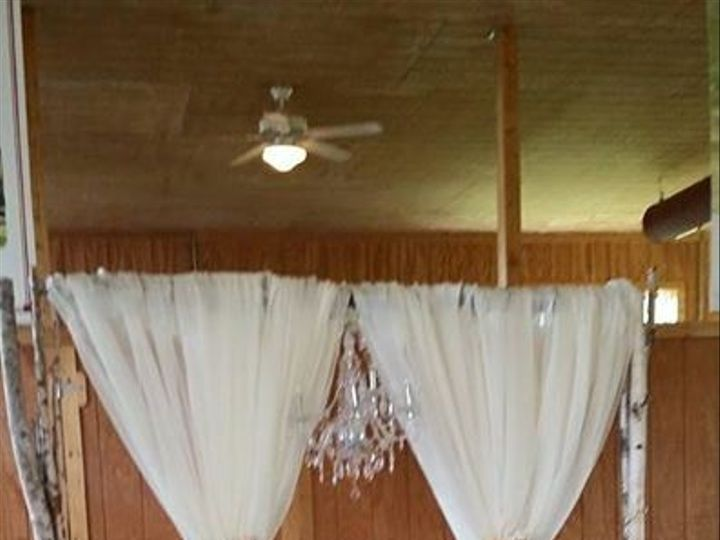 Tmx 1487378660057 Birch Arch With Sheer Fabric And Floral By Inside  Dubuque, IA wedding rental