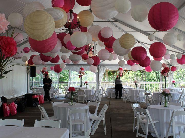 Tmx 1487379618965 Eagle Ridge Paper Lanterns Various Pinks With Tiss Dubuque, IA wedding rental