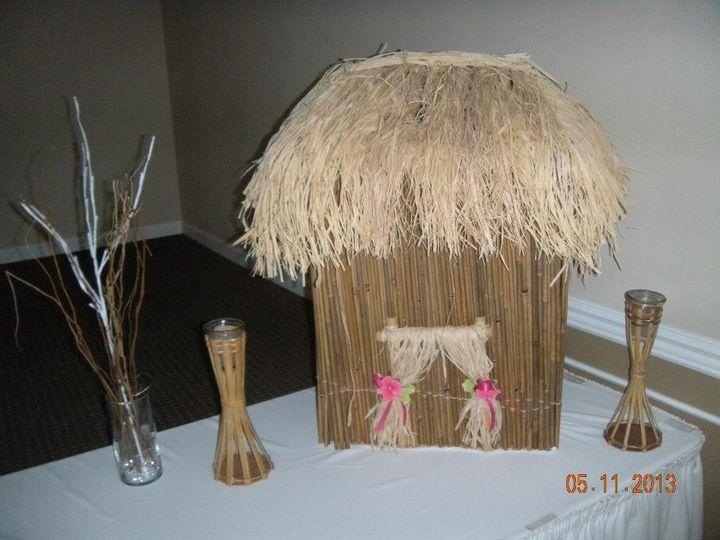 Tmx 1487380105323 Tiki Hut Card Holder Dubuque, IA wedding rental