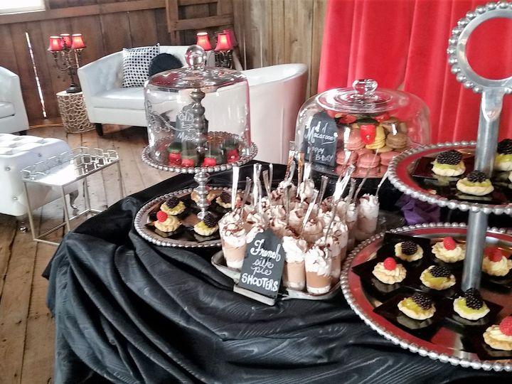 Tmx 1487380686802 Desserts Cake Stands Silver Decor Lounge Furniture Dubuque, IA wedding rental
