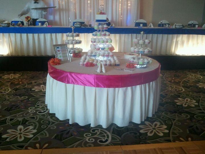 Tmx 1487380841108 Cupcake Stands And Gerbers By Inside Decor Rental Dubuque, IA wedding rental