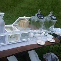 Tmx 1487380900465 Beverage Dispenser And White Wood Display Box Dubuque, IA wedding rental