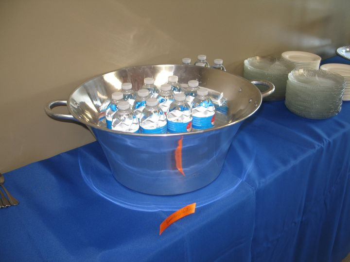 Tmx 1487380993797 Silver Table Tubs For Beverages From Inside Decor  Dubuque, IA wedding rental
