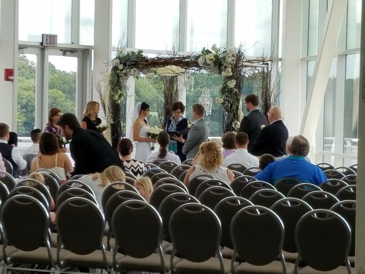 Tmx 1487969474191 Curly Willow Arch At The Grc Riverview Room By Ins Dubuque, IA wedding rental