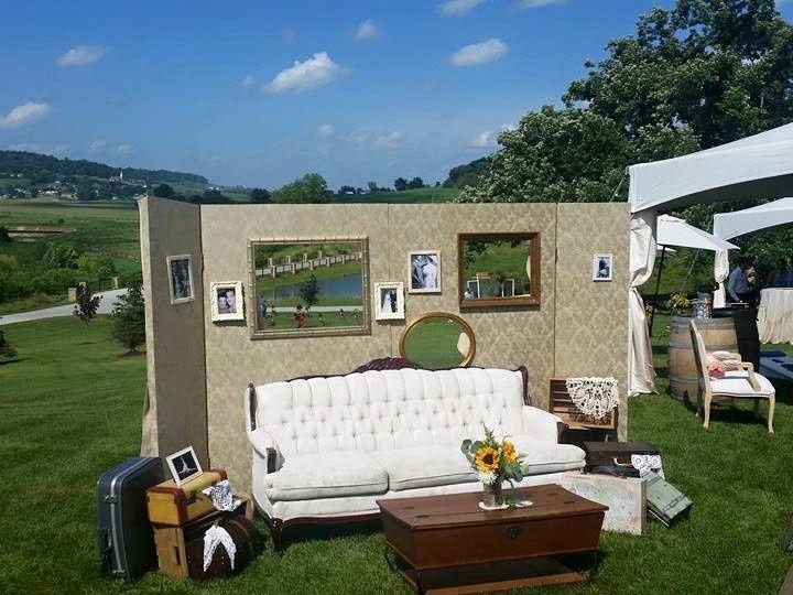 Tmx 1487969785963 Vintage Suitcases Wallpaper Backdrop Vintage Couch Dubuque, IA wedding rental