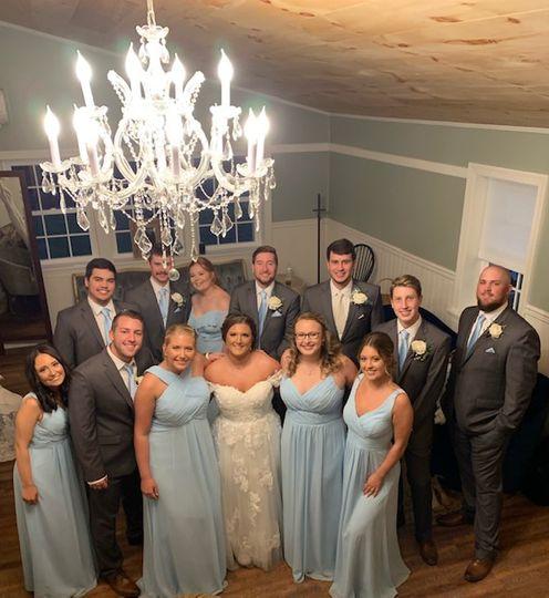Kayla and Dustin Wedding Party