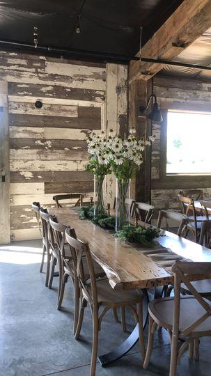 Interior table setting