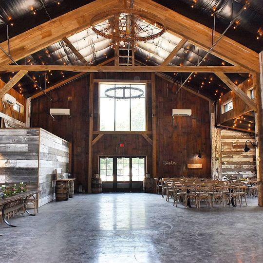 The venue interior