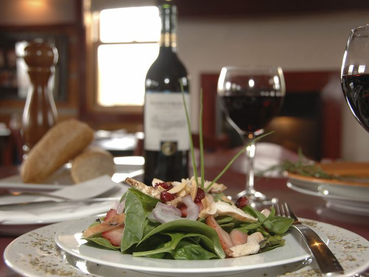 Tmx 1424382589971 Salad Place Setting With Wine Eugene, OR wedding catering