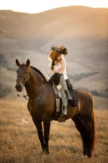 The horse ride