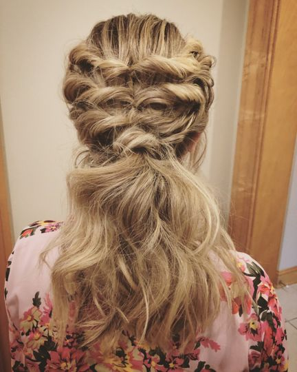 Ponytail and braids