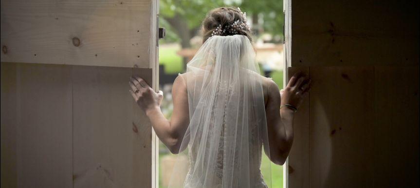 Bride Silhouette Shot
