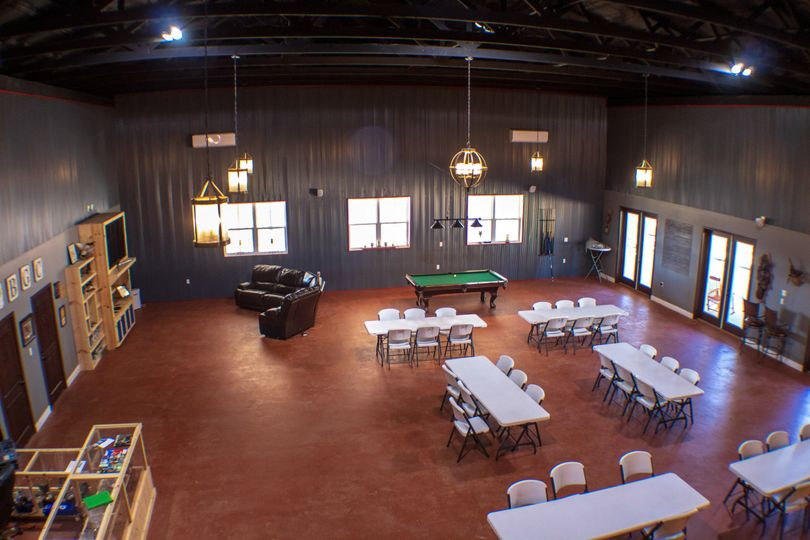 Downstairs venue space