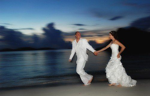 Destination weddings to St. John are inexpensive and wonderful.