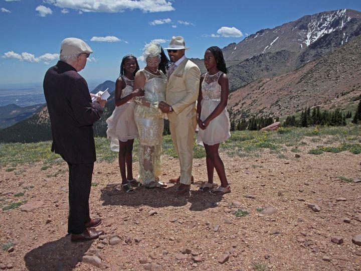 Tmx Delonia Ken Pikes Peak 7 4 51 200639 158931195770023 Denver, Colorado wedding officiant
