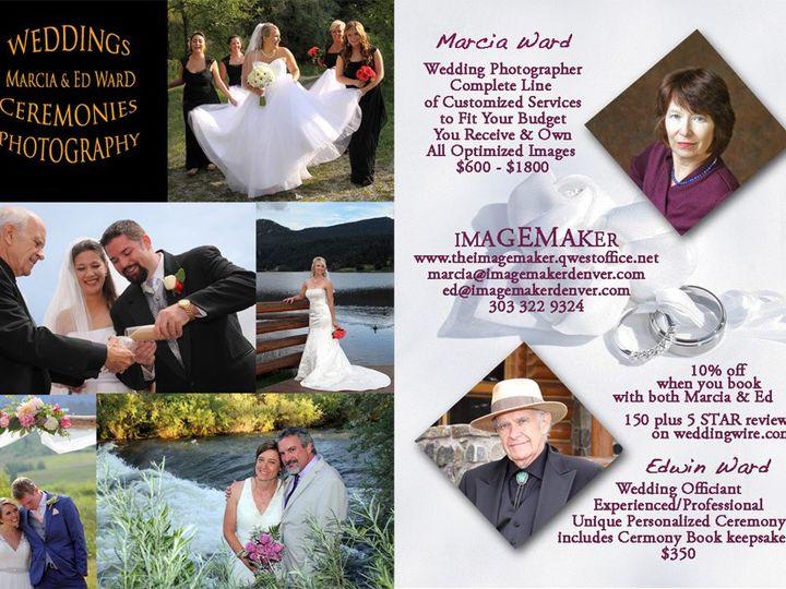 Tmx Wedding Card 2 In 1 51 200639 158931354342651 Denver, Colorado wedding officiant