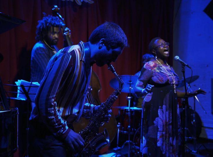 Saxophone/Singer Quintet
