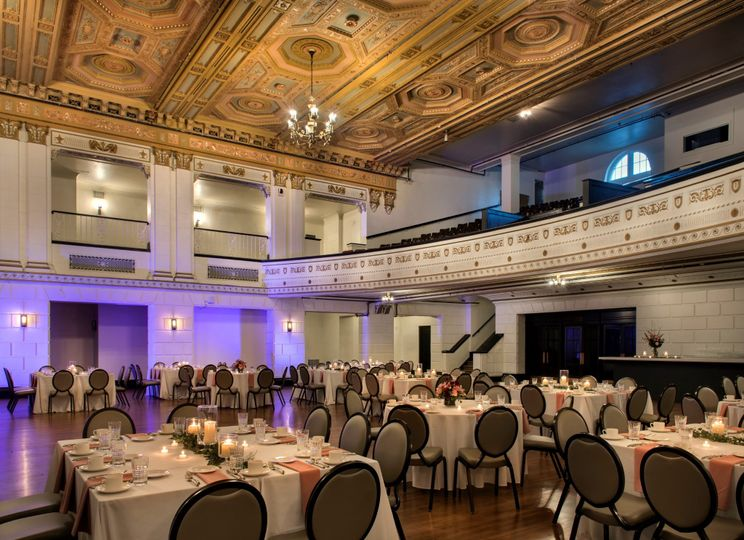 Forbes Theater Wedding