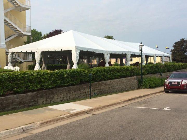 Open tents