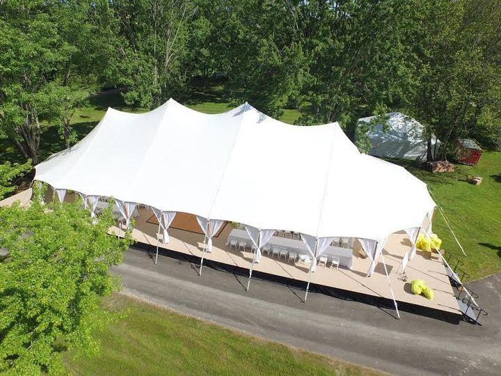 Circus designed tent