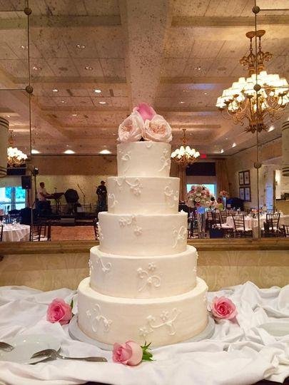 Five layer cake